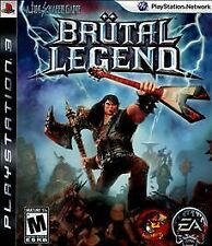 Brutal Legend (Sony PlayStation 3, 2009) *USED*