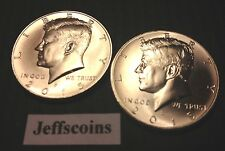 2015 P&D Kennedy Half Dollars Kenedy Pd Mint Roll Clad 50¢ 2 Uncirculated Coins