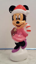 Disney Minnie Mouse Christmas LED Light Up Collectible Figurine