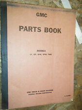 UP TO 1963 GMC MODELS DF DFI DFW DFWI 7000 FACTORY PARTS BOOK MANUAL CATALOG