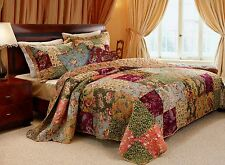 Decorative Throw Pillow Set Antique Chic French Country Quilted