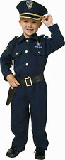Police Officer Deluxe Child Costume Policeman Toddler 12-24 Month 2T