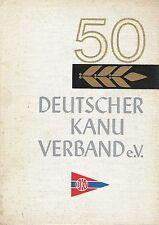 50 Jahre Deutscher Kanu-Verband Kanuten 1964