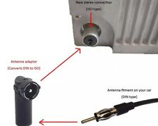 Antennen Adapter Autoradio Alt-Neu Stecker ISO auf DIN Antennenstecker