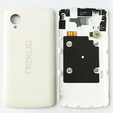 White Housing Battery Door Rear Back Cover NFC Chip For LG Nexus 5 D820 D821 OEM