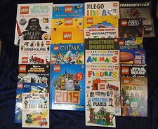 * 25 BRILLIANT LEGO BOOKS by VARIOUS AUTHORS * UK FREE POST * HB/PB*