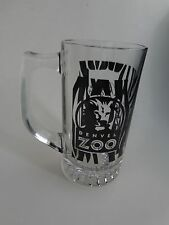 BEER Glass Mug Stein    Brew At The Denver Zoo 2009 Fest ~ Toyota Autos  *  Lion
