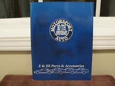 MOTORSPORT 10th ANNIVERSARY AUTO Z & ZX Parts & Accesories Paperback Book