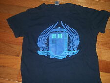 """DOCTOR WHO Tee Fury rare """"The Angels Have The Phone Box"""" TARDIS t-shirt Adult S"""