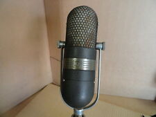 RCA 77 Vintage Ribbon Microphone Classic 1940s Broadcast Velocity Mic TV Grey