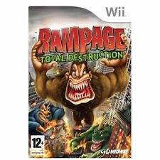 Rampage: Total Destruction (Nintendo Wii, 2007) NEW AND SEALED UK PAL