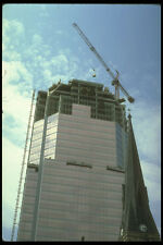 237041 Construction Crane Lowering Crated Glass Supply A4 Photo Print