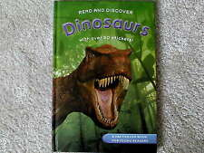 Read and Discover DINOSAURS with over 50+ Stickers - NEW