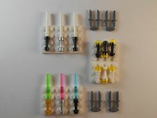 Lego Lightsabers LOT OF 20. Flashlights GLOW IN THE DARK. Brand New!! Star Wars