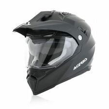ACERBIS CASCO 2017 HELMET FLIP FS-606 NERO BLACK MOTARD ENDURO TOURING BMW XL
