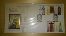 Royal Selangor Premier Niobium Pewter Stamp FDC - 2003 Clock Towers Menara Jam