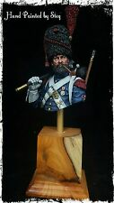 1/10 200mm Built & Painted Resin Bust 'Napoleonic Foot Grenadier.'