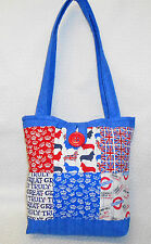 Quality Sewing Craft Kit - Patchwork Quilted England Tote Bag