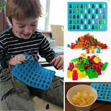 50 Cavity Silicone Gummy Bear Chocolate Mold Candy Maker Ice Tray Jelly Moulds +