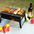 Portable Outdoor Stainless Steel Barbecue Stove For Camping Grill Charcoal BBQ