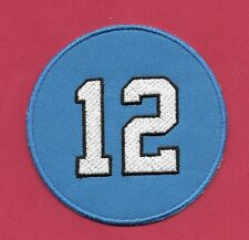 "New Seattle Seahawks 12th Man Round  3   "" Iron on Patch Free Shipping"