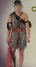 Men's jungle caveman cave man  costume/halloween