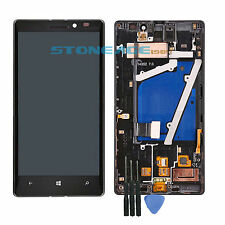 For Nokia Lumia 929 930 Black Touch Screen Digitizer&LCD Display+Frame Tools