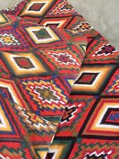 SW Aztec Sleeping Bag Red Yellow Blue Green VTG