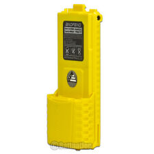 BAOFENG  BL-5L 3800mAh 7.4V Extended Li-Ion Battery for UV-5R Radio YELLOW