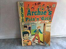 ARCHIE'S PALS 'N' GALS (1952 Series) #106  Comics Book