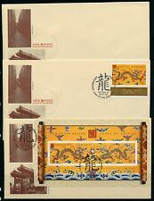 Weeda Canada 1836-1837 Group of 2000 Year of the Dragon covers, Victoria cancels