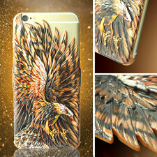 Creative Eagle Wings 3D Relief Hard Case Cover For Apple iPhone 6 Plus/6S Plus