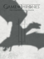Game of Thrones: The Complete Third Season 3 (DVD, 2014, 5-Disc Set)