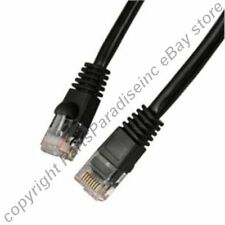 Lot40 10ft RJ45 Cat5e Ethernet Cable/Cord/Wire{BLACK{F