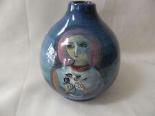 """Vintage 1950s- 60s Excellent Mid Century Mod Polia Pillin Pottery Vase  5.5"""""""