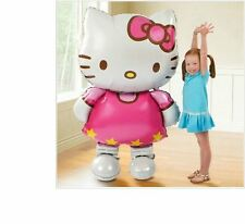 Large 116x65cm Hello Kitty foil balloon cartoon birthday decoration inflatable