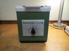 Beckman Microfuge B 6 Centrifuge. Good Condition.