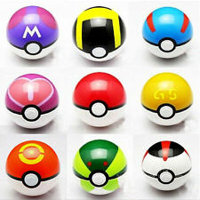 9PCS Pokemon pikachu Pokeball Cosplay Pop-up Master Great Ultra GS poke BALL Toy