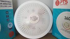 Flurleuchte Deckenlampe Lampe mit Bewegungsmelder PTS-WEISS
