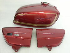 SUZUKI GT380M 1975 MODEL TANK AND SIDE PANELS FULL PAINTWORK DECAL KIT