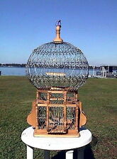 "20"" ANTIQUE LOOKING VICTORIAN STYLE EXOTIC BIRDCAGES: DECORATIVE BIRD CAGE"