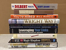 Lot of 10 BUSINESS Books, Tipping Point, You're Hired, Rich Dad, Dilbert Prin...