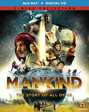 Mankind: The Story of All of Us (Blu-ray Disc, 2012, 3-Disc Set)