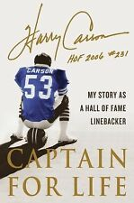 Captain for Life: My Story as a Hall of Fame Linebacker, Carson, Harry, Good Con