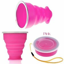 Camping Telescopic Outdoor Coffee Folding Mug Travel Silicone Cup Collapsible