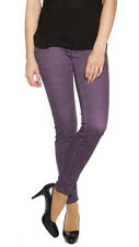 NWT TRUE RELIGION JEANS WOMEN 24 CASEY COLD PRESS SKINNY-STRECH BLACKBERRY $235.