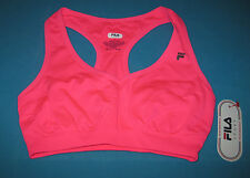FILA SPORT~XS~Solid Knockout Pink Core Essentials Seamless Sports Bra ACF3908