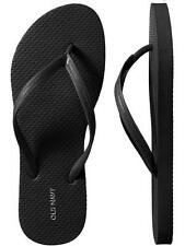 Womens Old Navy Flip Flop Sz 7 Black NWT