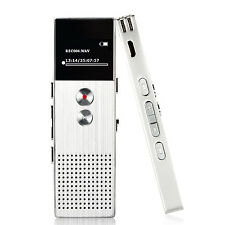 AGPtEK Portable MP3 Music Player Voice Recorder FM Radio Support up 64 GB Silver