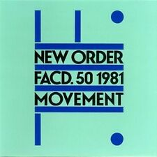 New Order Movement CD NEW SEALED Dreams Never End/Truth/Senses/Denial/ICB+